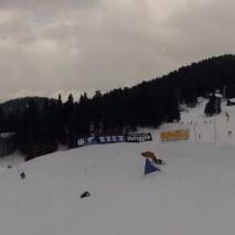 Video Obereggen Banked Slalom 2015