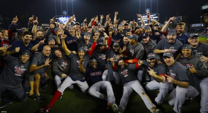 Boston Red Sox nell'Olimpo degli Dei