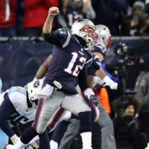 Troppo Brady per i Titans: vittoria Patriots ed ennesimo AFC Championship Game