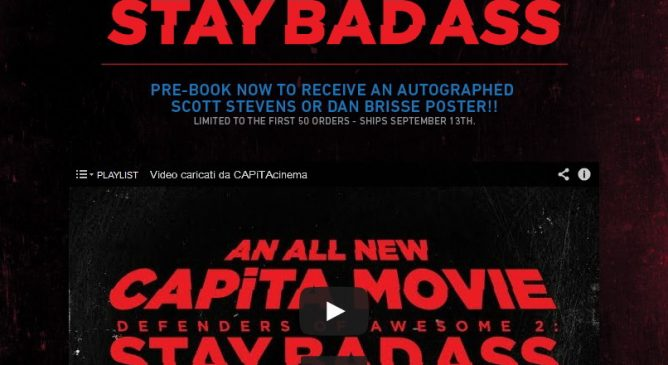 CAPiTA DOA 2 – Stay Bad Ass: Teaser online