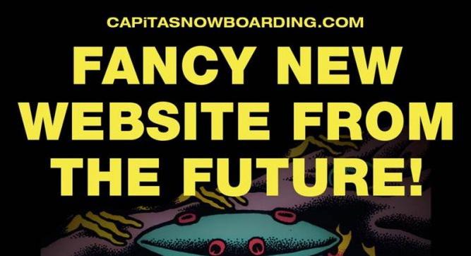 Online il nuovo sito di CAPiTA Snowboarding