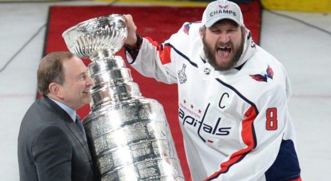 L'urlo di Ovechkin: Capitals campioni!