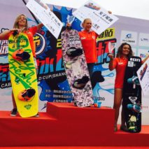 Claudia Pagnini arriva terza al Wakeboard World Cup 2017