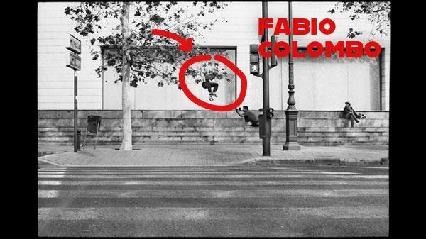 Fabio Colombo e i suoi trick
