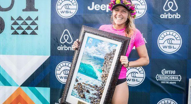 Stephanie Gilmore vince il Maui Women's Pro