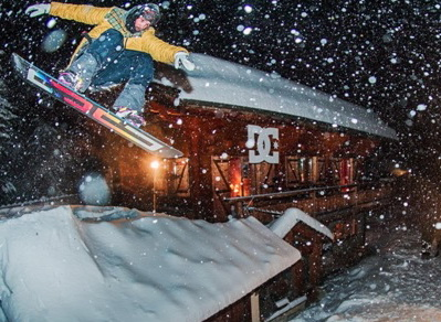 DC Area 43: la mecca degli snowboarder