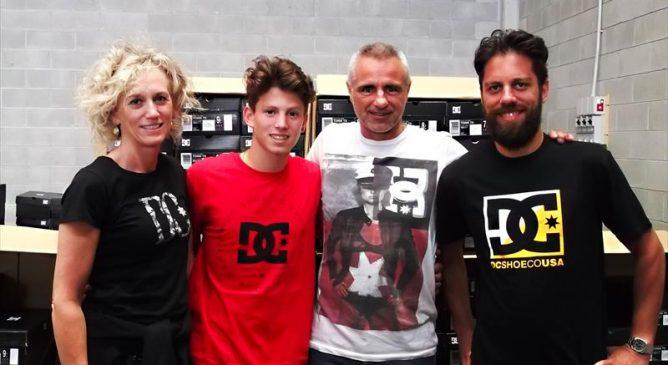 Andrea Locatelli annuncia la collaborazione con DC Shoes