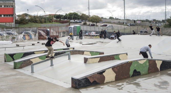 Report DC Skate with us a Sassari