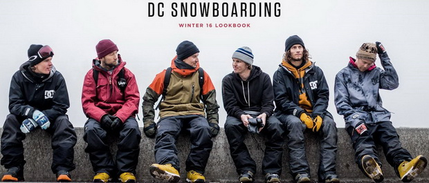 DC Snowboarding: Outerwear Collection 2016