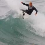 Protest Surfer in Spring Break Sardegna
