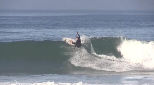 Due minuti di puro surf con Dimitri Polous