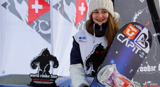 Emma Gennero vince il Corvatsch Rookie Fest