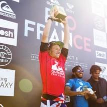 John John Florence vince il Quiksilver Pro France 2014