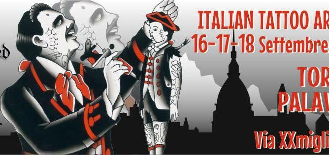 Torino Tattoo Convention supportato da DC
