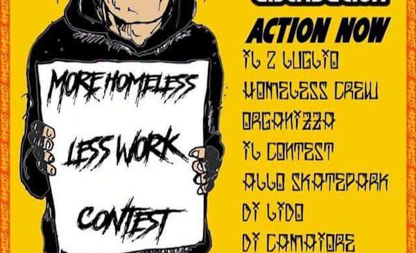 Homeless Contest al Lido di Camaiore