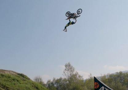 Leonardo Fini e il Freestyle Motocross