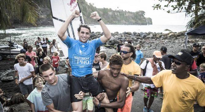 Leonardo Fioravanti vince il Martinique Surf Pro