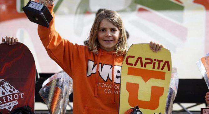 Marcello Grassis Campione Italiano di Snowboard!