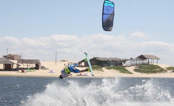 Il Brasile è un paradiso del kitesurfing
