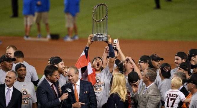 From worst to best in 4 anni: Astros are Champs!
