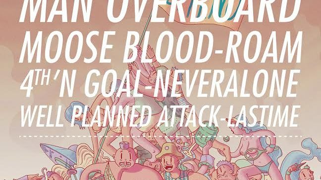 New Entry 4th'n Goal Al Pop-Punk Spring Fest 2015