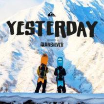 "Quiksilver presenta ""Yesterday"""