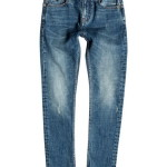Quiksilver Low Bridge Blue Damaged Aw Youth