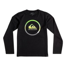Quiksilver Ls Classic Tee Yth Active Check