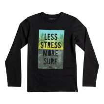 Quiksilver Ls Classic Tee Youth Less Stress