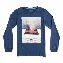 Quiksilver Ls Tee Carbon Youth Sintra