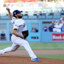 MLB WORLD SERIES: KERSHAW STELLARE, AI DODGERS GARA 1
