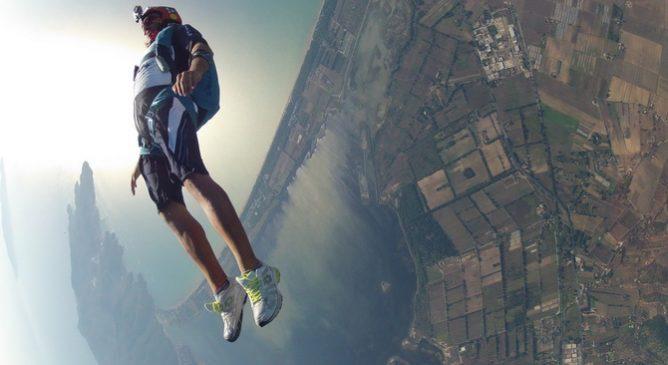 Sandro Bigozzi: skydiver per passione
