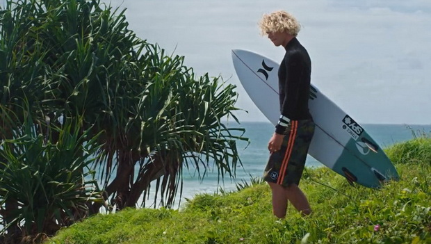 """Being a surfer is fun"" con John John Florence"
