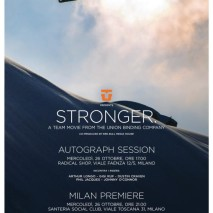 Premiere a Milano per Stronger, The Union Team Movie