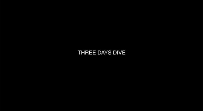 Nicola Giordano in Three Days Dive