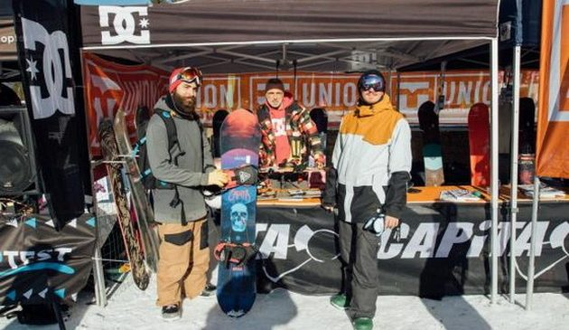 Test materiali 2019 a Livigno Carosello