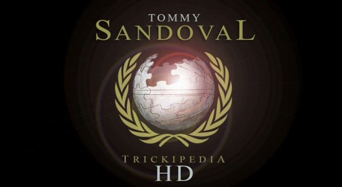Fallen Tommy Sandoval su The Berrics Trickipedia