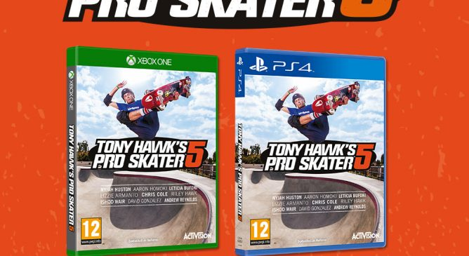 Tony Hawk's Pro Skater 5 alla Games Week