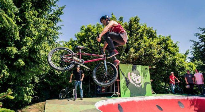 Il BMX rider Vittorio Galli è il (vice) Re del Cemento
