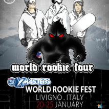 Union partner del Deejay XMasters World Rookie Fest 2018