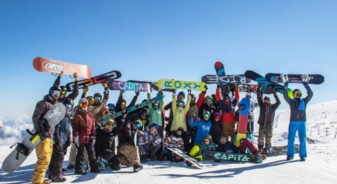 Snowboard Summer Camp a Les2Alpes 2019