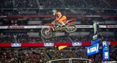 Angelo Pellegrini al Supercross USA