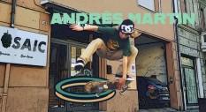 Andrès Martin: un rider nato per lo skateboarding