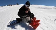 2 colpi che hanno colpito: Kevin Backstrom sul ghiacciaio
