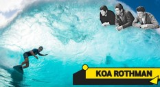 Koa Rothman e la forza incontrollata dell'oceano