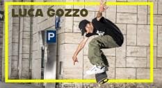 Luca Gozzo: lo skater che non toglie mai lo le suole dal grip