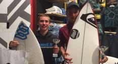 Mattia Migliorini trionfa nella Quiksilver Junior Cup