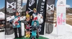 Marilù Poluzzi e Oliver Rainer vincono a Obereggen l'ultima tappa del Rookie Tour Italy