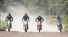 Quando il motocross incontra la natura