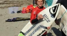 Michele Scoppa vince il Quiksilver Grom Contest